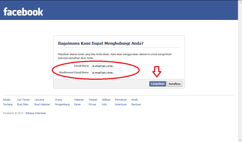 Mendisable / Hack Account Facebook ~ Indonesia Blogger