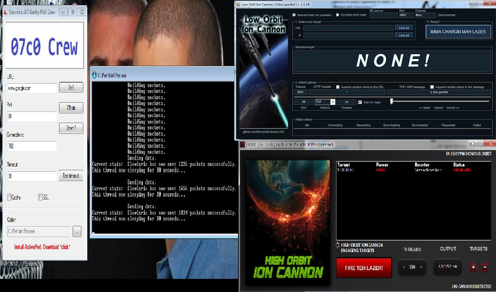 DDOS Attack | Noface